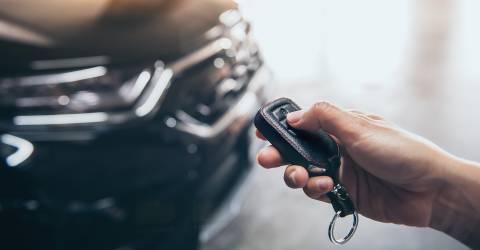 Afstandsbediening auto, auto afstandsbediening, auto